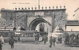 Tunisie - TUNIS - Porte De France - Tram Tramway - Tunesië