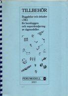 Catalogue PERL MODELL AB 2001 TILLBEHÖR HO Ersatzteile  - En Suédois - Boeken En Tijdschriften