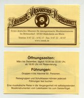 Siegfried Mechanisches Musikkabinet. Rüdesheim Am Rhein, Deutschland. Instruments De Musique. Music Museum - Tickets D'entrée
