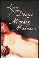 Love Desire Murder Madness Carte Postale - Pin-Ups