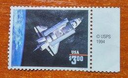 USA 1995 Challenger Used No Gum - Vereinigte Staaten