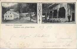 1909 - Hruba Voda  Grosswasser  HLUBOCKY , Gute Zustand, 2 Scan - Tchéquie