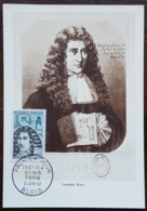 CM 1962 - YT N°1345 - DENIS PAPIN - BLOIS - Cartas Máxima