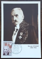CM 1962 - YT N°1349 - EDOUARD ESTAUNIE - DIJON - Cartas Máxima
