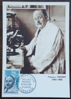 CM 1962 - YT N°1350 - HYACINTHE VINCENT - BORDEAUX - Cartas Máxima