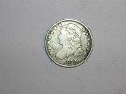 ESTADOS UNIDOS/USA 10 CENTAVOS 1835, VARIANTE PALO CORTO DEL 5 (5852) - Federal Issues