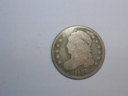 ESTADOS UNIDOS/USA 10 CENTAVOS 1836 (5853) - Federal Issues
