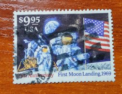 USA 1994 First Moon Landing 25th Anniversary  USED - Vereinigte Staaten