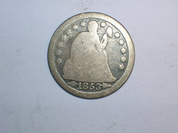 ESTADOS UNIDOS/USA 10 CENTAVOS 1853 (5856) - Federal Issues