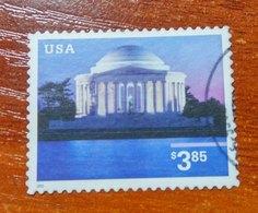 USA 2002 Jefferson Memorial  USED - United States