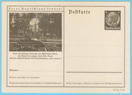 J.P.S. 9 - Compositeur - J.S. Bach  N° 67 - Allemagne - Entier Postal - Arnstadt - P 236-36-71-1-B8 - Musique