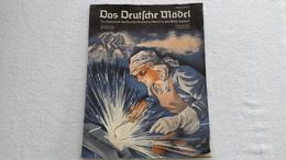 Raree Zeitschrift Das Deutsche Mädel In Der HJ 1943 Bund Deutscher Mädels BDM JM - 1939-45
