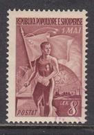 Albania 1949 - 1er Mai, Fete Du Travail, Mi-Nr. 461, Used - Albania