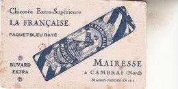BUVARD  FORMAT CPA   CHICOREE   LA FRANCAISE   CAMBRAI - Food