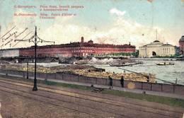 St Petersburg NEVA PALAIS D HIVER ET L AMIRAUTE - Russia