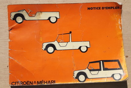 CITROEN MEHARI MANUEL D'UTILISATEUR ORIGINAL (7/1974) - Other Collections