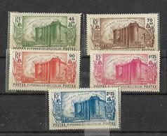 St Pierre Et Miquelon 1939 150 Révolution Française Cat Yt N° 191 à 195 N** MNH - Unused Stamps