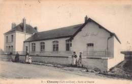 41 - LOIR ET CHER - CHOUSSY - 10028 - école Et Mairie - Autres Communes