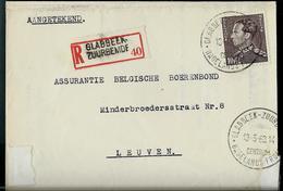 Doc. De GLABBEEK - ZUURBEMDE  Du 13/05/63  -  En Rec. - Marcophilie