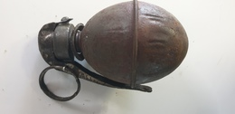 Très Rare Grenade OF1 1915 Neutralisée - 1914-18