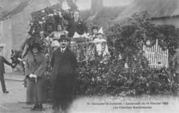 41 - LOIR ET CHER - OUCQUES LA JOYEUSE - 10039 - Cavalcade Du 14 Février 1923 - Famille Nombreuse - Char - Autres Communes