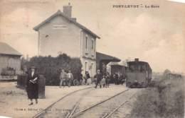 41 - LOIR ET CHER - PONT-LEVOY - 10041 - GARE - Descente Du Train - Rail - Autres Communes