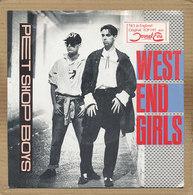 """7"""" Single, Pet Shop Boys - West End Girls - Disco & Pop"""
