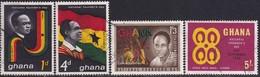 GHANA 1963 SG 315-18 Compl.set Used Founder's Day - Ghana (1957-...)