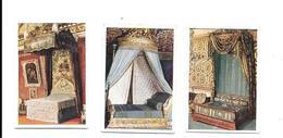 BP49 - IMAGES CIGARETTES SALEM - LITS ROYAUX - LOUIS XIV - MARIE ANTOINETTE - IMPETRATRICE JOSEPHINE - Cigarette Cards