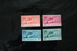 Syria UAR Set World Refugee Year Ery Minor Topical Staining WYSIWYG 1960 A04s - Emisiones Comunes