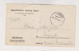 CROATIA WW II 1943 Concentration Camp STARA GRADISKA Stationery - Croatia