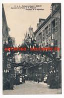CPA 24 SARLAT Rare Carte Négociant GARBAGNI (envoi De La Maison) Souvenir De La Visite De M. Poincaré Président - Sarlat La Caneda