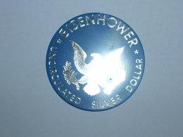 ESTADOS UNIDOS/USA JETON UNCIRCULATED SILVER DOLAR EISENHOWER (5865) - USA