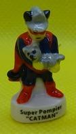 Fève - Pompiers Super Heros 2017  - Super Pompier Catman - Chat Dans Les Bras - Personen