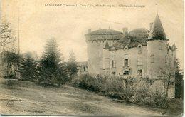 -48 - LOZERE - Environs De   LANGOGNE - Chateau  De  Soulages - Châteaux