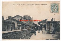 CPA 75 PARIS XIXe Rare Station Du Pont De Flandres Sur Les Quais - Arrondissement: 19