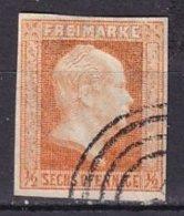 PRUSSE - 6 P. Rouge-orange Oblitéré - Pruisen