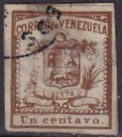 VENEZUELA - 1 C. De 1861 Oblitéré FAUX - Venezuela