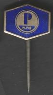 PLIVA - Pharmaceutical Company Industry ZAGREB - Pin Badge Pin -  Yugoslavia Croatia - 1970's - Medical