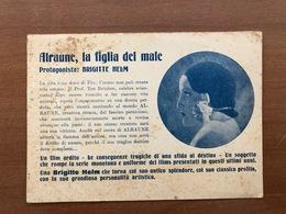 BRIGITTE HELM NEL FILM ALRAUNE LA FIGLIA DEL MALE  1933 - Actors