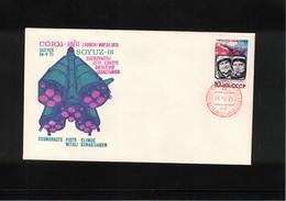 Russia USSR 1975 Space / Raumfahrt Soyuz -18-II Interesting Letter - Covers & Documents
