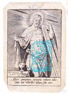 DP Joanna Maria Van Goch Gogh ° 1742 † 's-Hertogenbosch 1825 X Godefridus Heeren / Gravure Hieronymus Wierix ° Antwerpen - Imágenes Religiosas