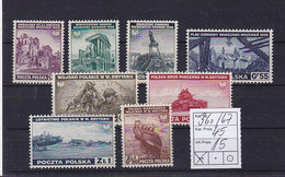 Polen Nr.360-367 ** - Unused Stamps