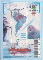 BRAZIL - SS BRAZILIAN ANTARCTIC PROGRAM 1997 - MNH - Research Stations