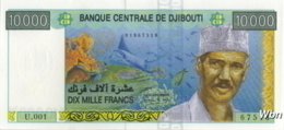 Djibouti 10000 Francs (P45) -UNC- - Djibouti