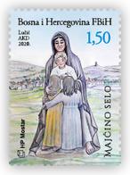 2020 Međugorje, N° 541, Croat Post Mostar, Bosnia And Herzegovina, MNH - Bosnia And Herzegovina