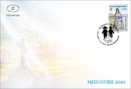 2020 FDC, Međugorje, Croat Post Mostar, Bosnia And Herzegovina, MNH - Bosnia And Herzegovina