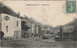 Haute Saône.  Montigny-les-Charlieu.  Grande Rue. - Francia