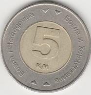 5 MARKS CONVERTIBLES 2009 - Bosnië En Herzegovina