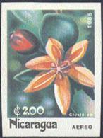 NICARAGUA (1985) Clusia Sp.. Imperforate. Scott No 1457, Yvert PA1090. - Nicaragua